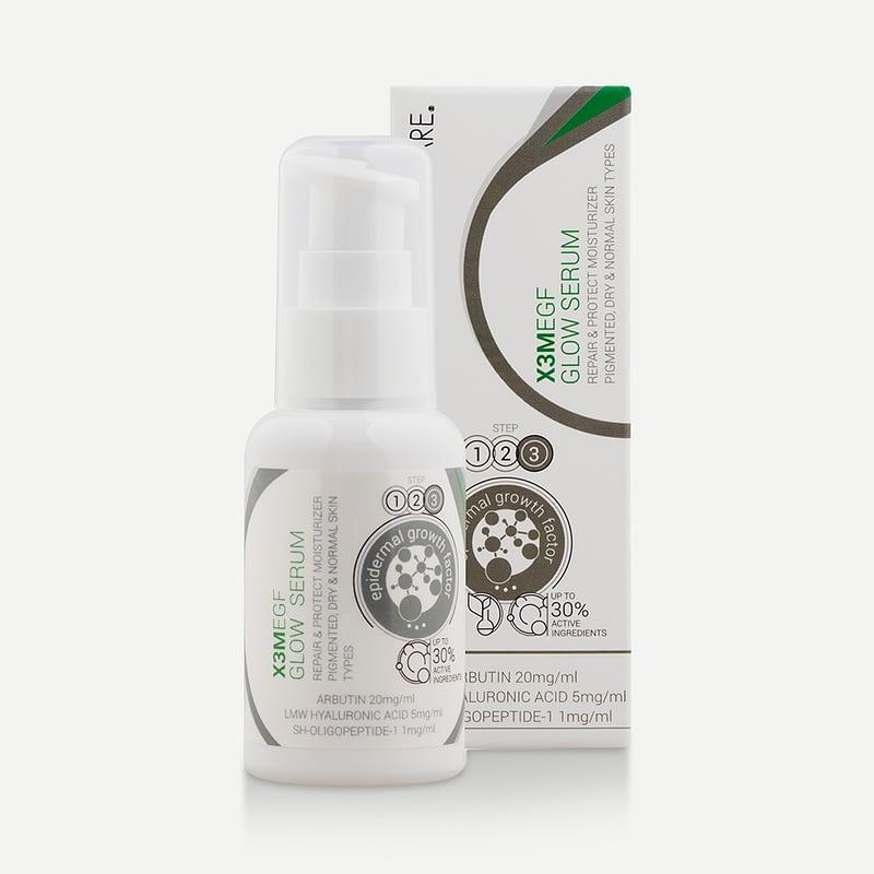 004176 : Serum anti-pigmentaire enrichie en EGF 50 mlEGF Extra AP Serum / X3M EGF Glow Serum